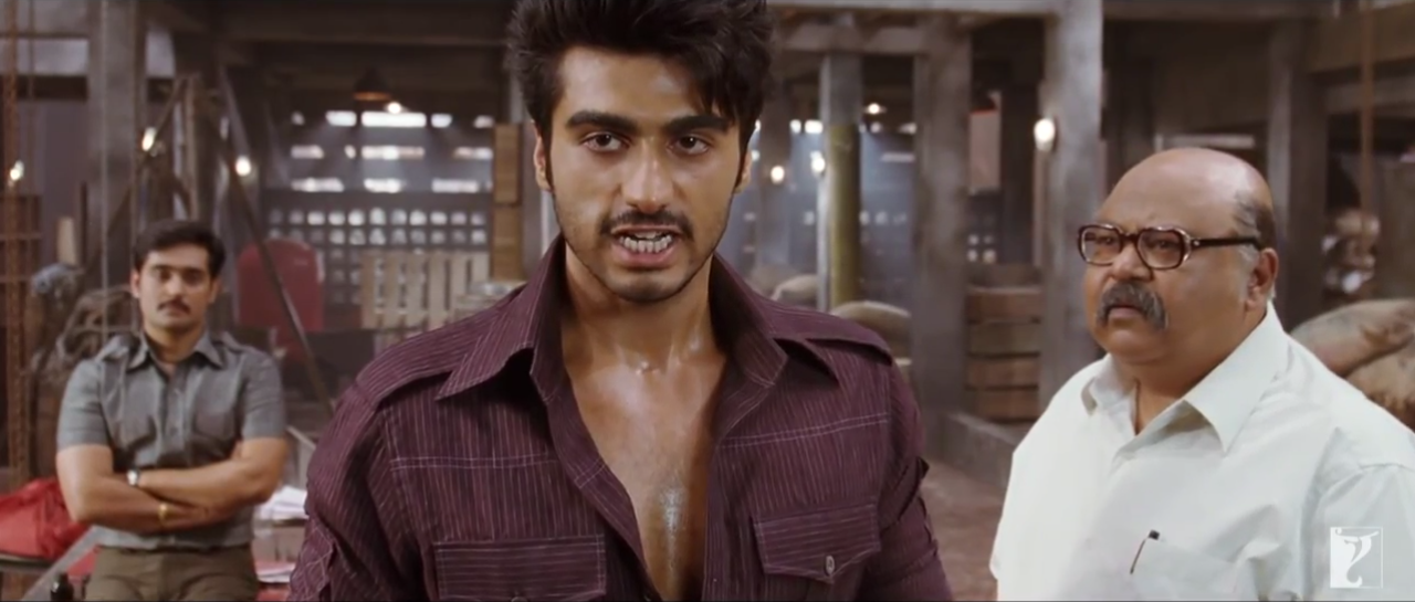 Angry Arjun Kapoor In Gunday