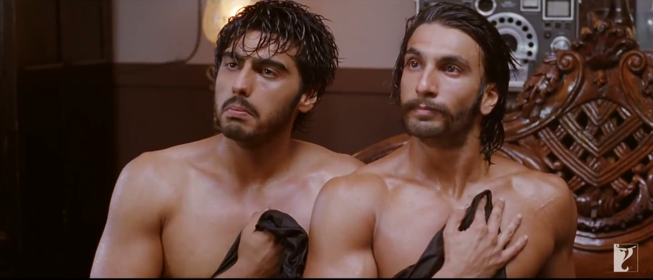 Arjun Kapoor And Ranveer Singh Got Naked Infront Of Priyanka Chopra In Gunday (2014)