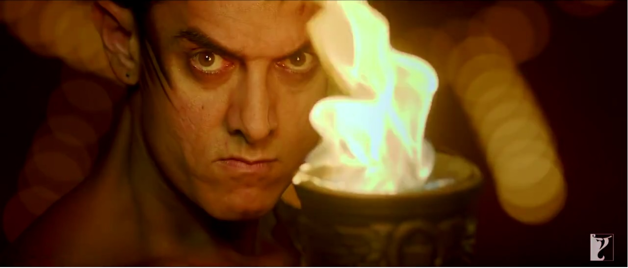 Dhoom 3: Aamir Looking Furious On The Promo Song Of Malang
