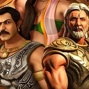 Mahabharat 3D Poster Ft. Ajay Devgan And Amitabh Bachchan