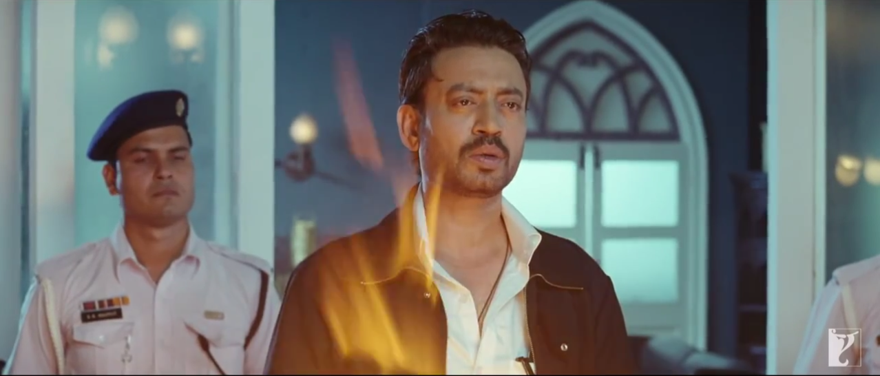 National Award Winner Irrfan Khan As Intelligence Agent in Gunday (2014) FIlm