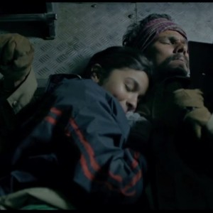 Romance Of Randeep Hooda And Alia Bhatt in Highway (2014) Film