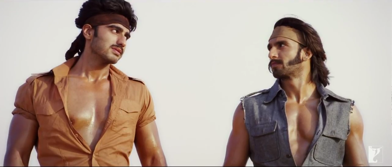 Vikram And Bala (Ranveer Singh and Arjun Kapoor) In Gunday (2014) Movie