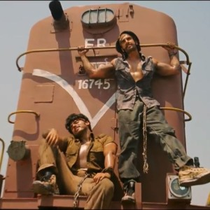 Arjun Kapoor And Ranveer Singh Is In Front Of A Train - Gunday Movie Video Song
