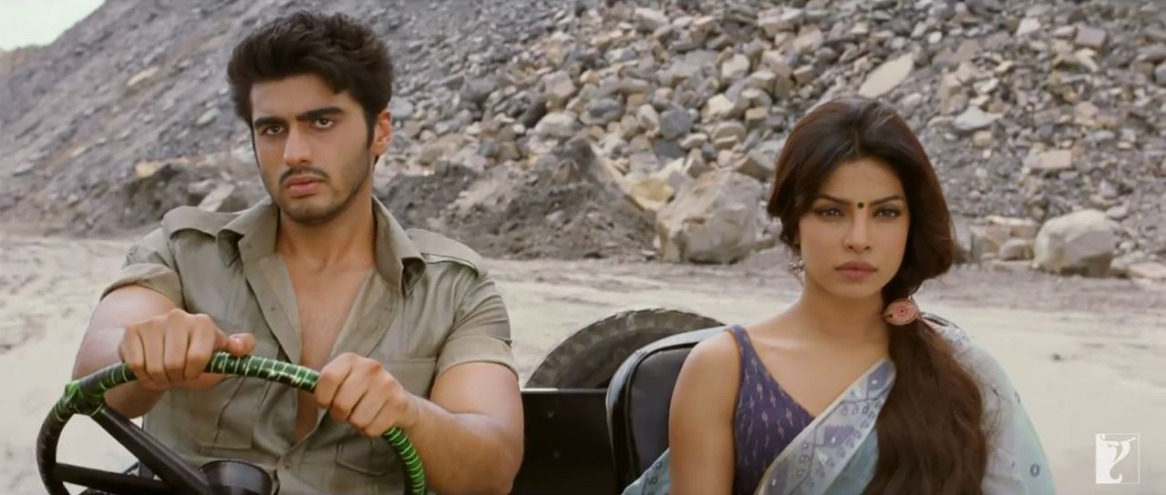 Arjun Kapoor Driving A Jeep For Priyanka Chopra In Saaiyaan Video Song Gunday
