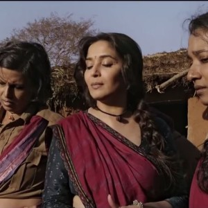 Madhuri Dixit After Slapping A Boy In Gulaab Gang Official Trailer