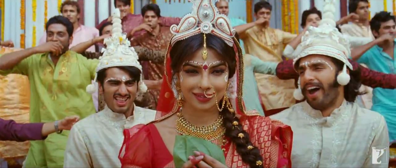 Nandita, Bikram And Bala In Marriage Dress In Tune Mari Entriyaan Video Song - Gunday