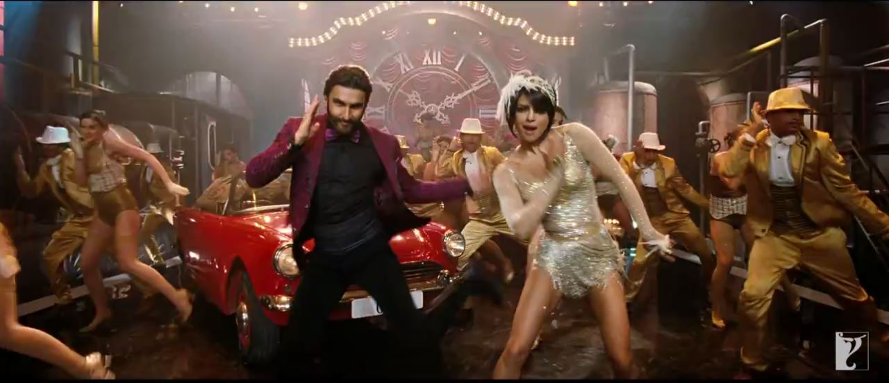 Ranveer Singh And Priyanka Chopra In Asalaam e Ishqum Video Song