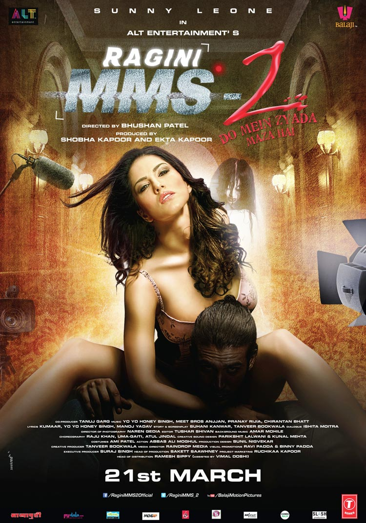 Sunny Leone's Ragini MMS 2 Official Poster