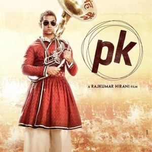 PK Film Poster #2 Ft. Aamir Khan