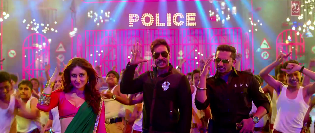 Ajay Devgan in Singham Returns Aata Majhi Satakli HD Video Song