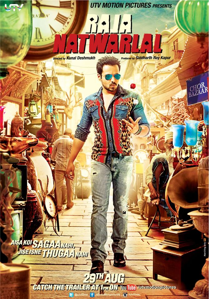 Raja Natwarlal Official Poster