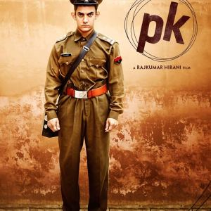 PK Film Poster #3 Ft. Aamir Khan