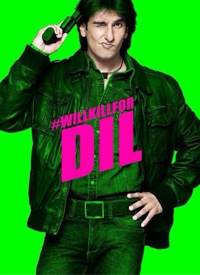 Kill Dil Poster - Ranveer Singh