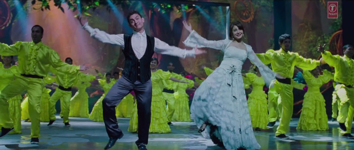 Aamir Khan and Anushka Sharma Beautiful Dance Love is a Waste of Time Video Song