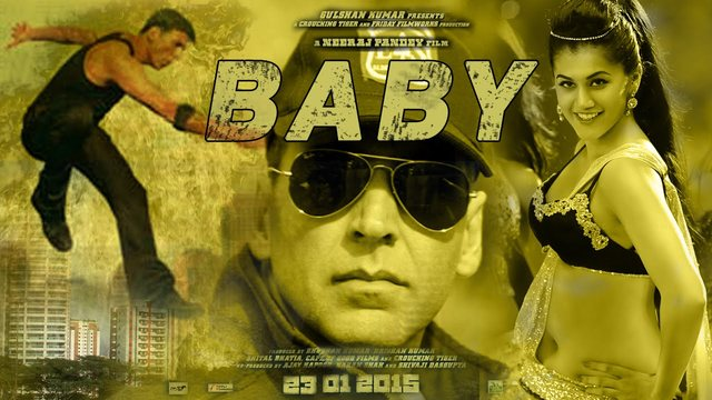 Akshay Kumarand Taapsee Pannu in Baby First Look Official Trailer