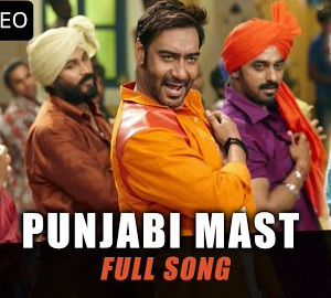 First Official Song Punjabi Mast HD Video Song Download From Action Jackson Film