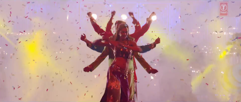 God/Goddess like Formation in Satakli Video Song