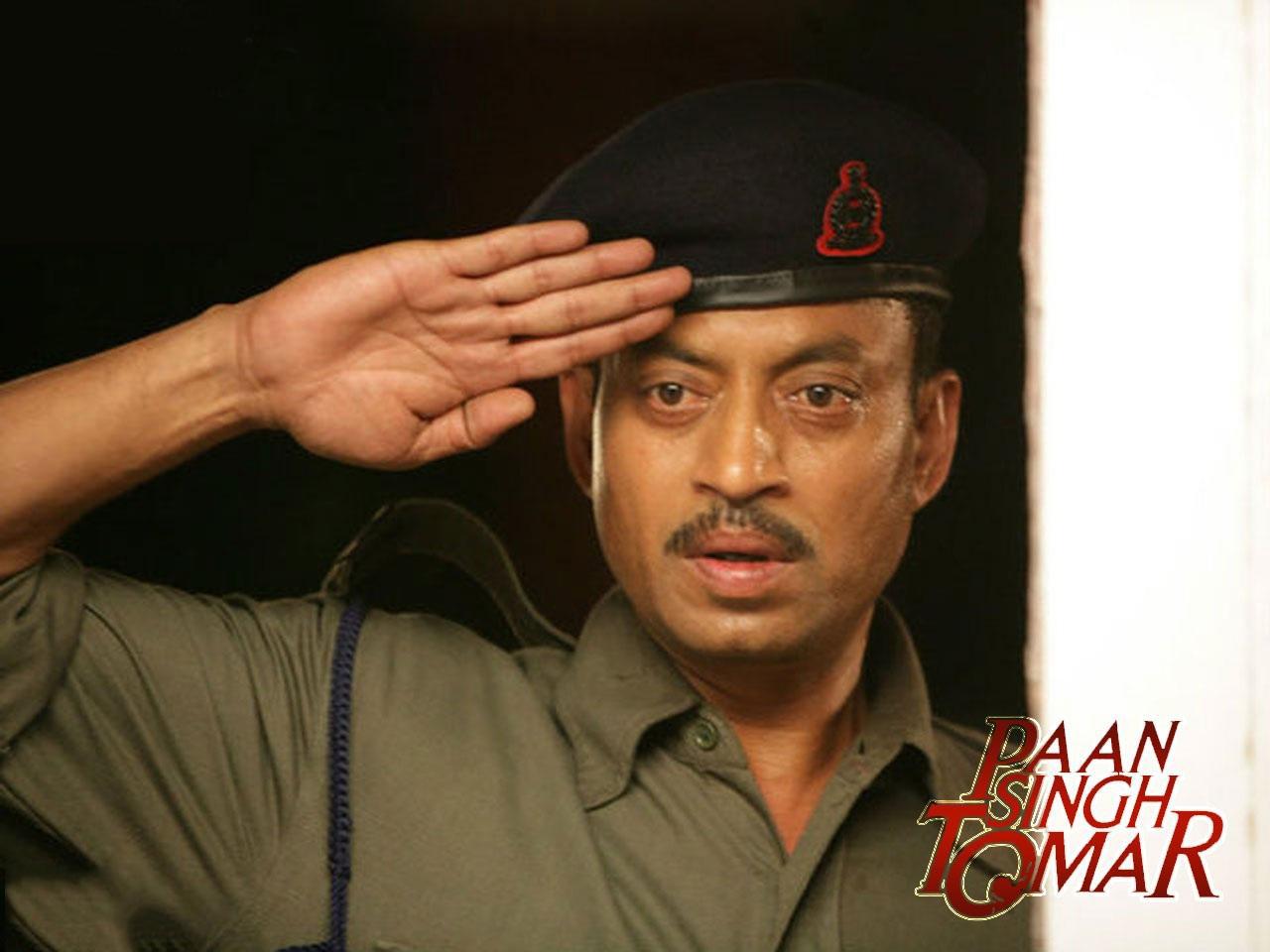 Irrfan Khan In Paan Singh Tomar Film