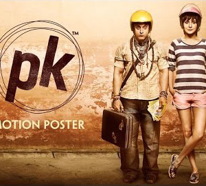 PK Movie Official 4th Poster Download