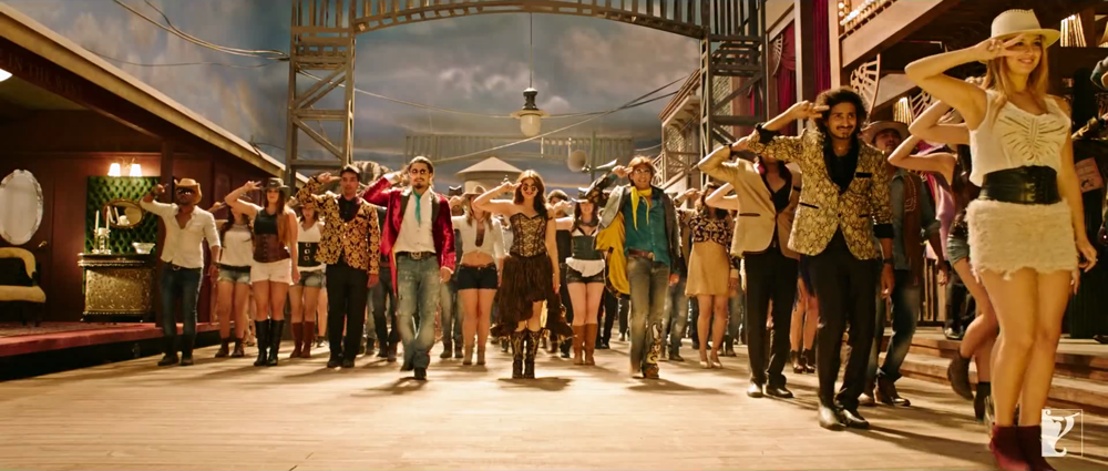 Ranveer Singh Parineeti Chopra and Ali Zafar Dance in Nakhriley Song
