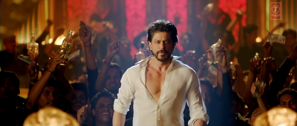 Shahrukh Khan Introduced to Satakli Video Song Still