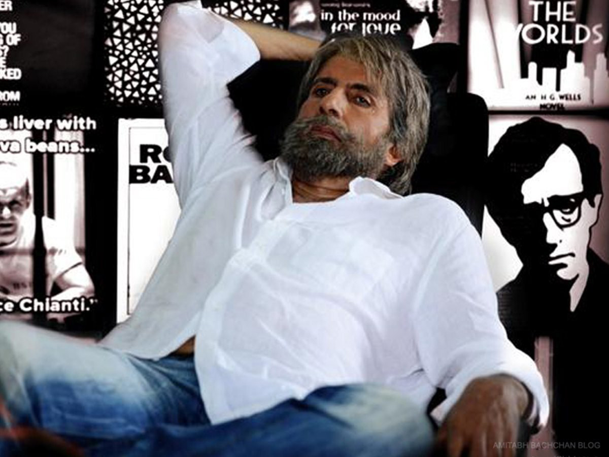 Shamitabh Amitabh Bachchan Latest Movie Shamitabh First Look Poster