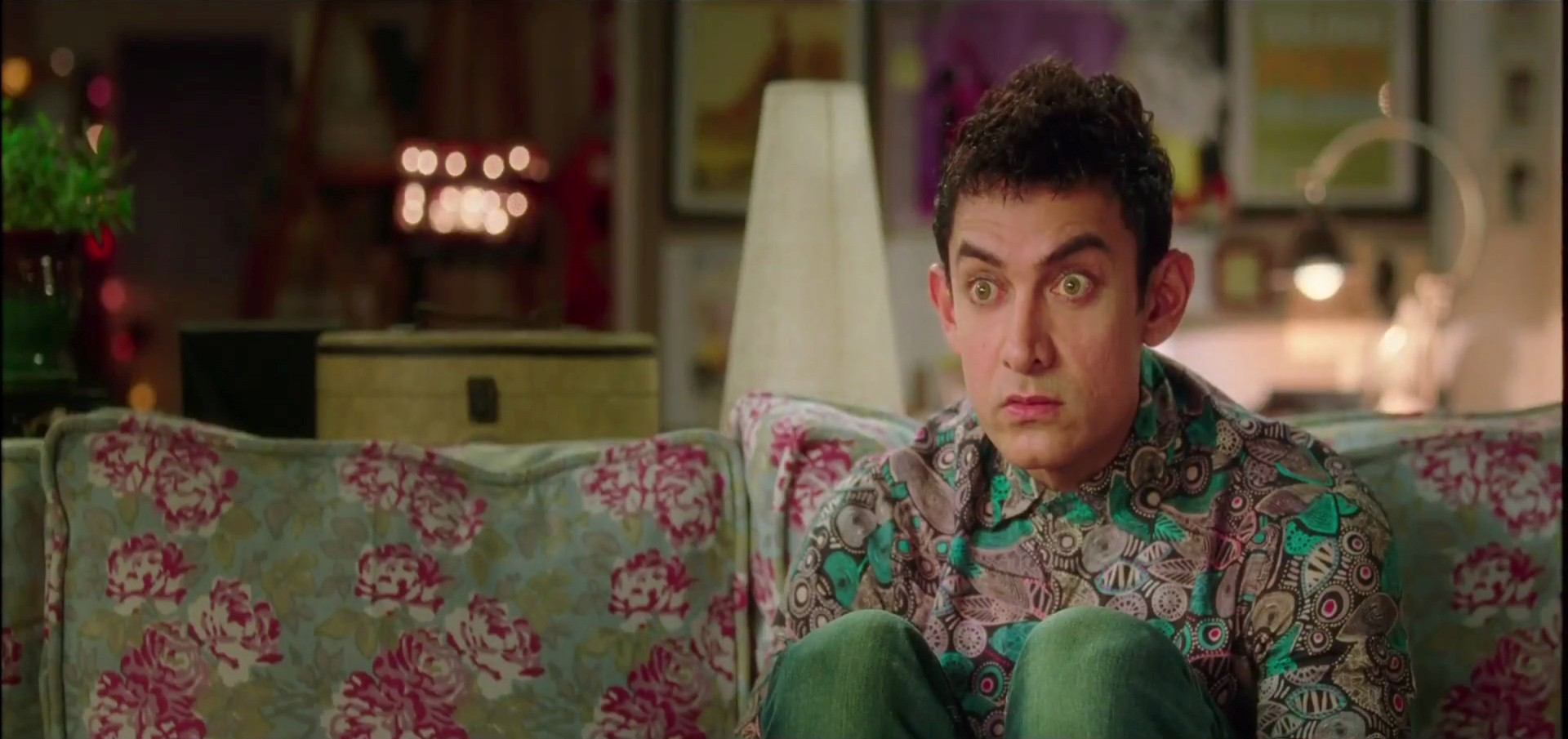Aamir Khan Funny Face In PK Movie Dialogues