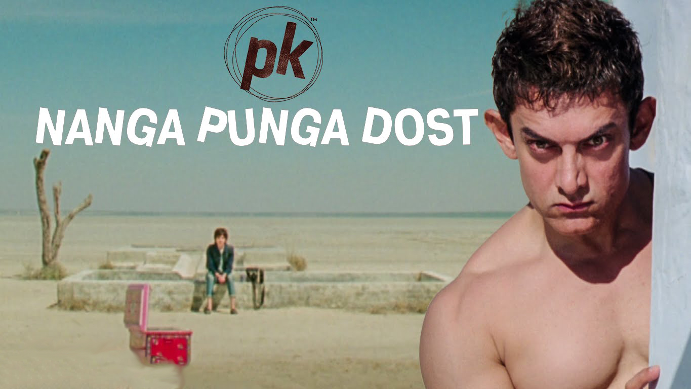 Aamir Khan in Nanga Punga Dost Song