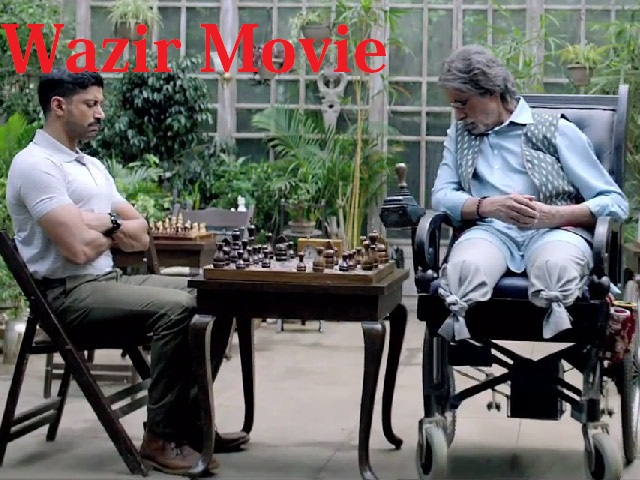 Amitabh Bachchan and Farhan Akhtar in Wazir Trailer Video
