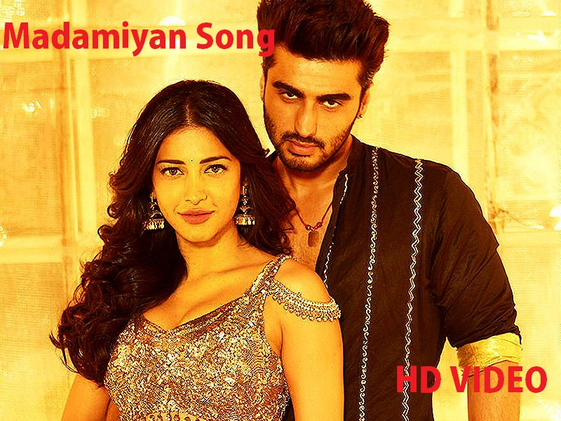 Arjun Kapoor And Shruti Haasan In Madamiyan Item Song