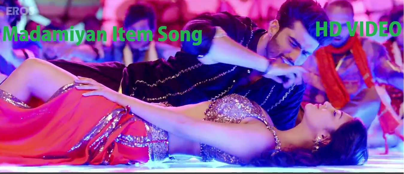 Arjun Kapoor With Shruti Haasan Hot Song In Madamiyan