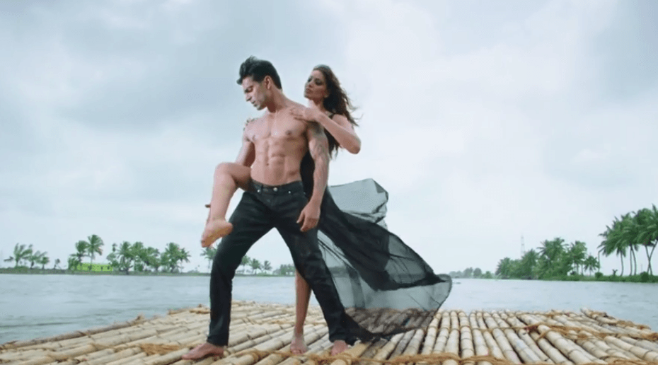 Bipasha Basu & Karan Singh Grover Romantic Screen In Alone Movie