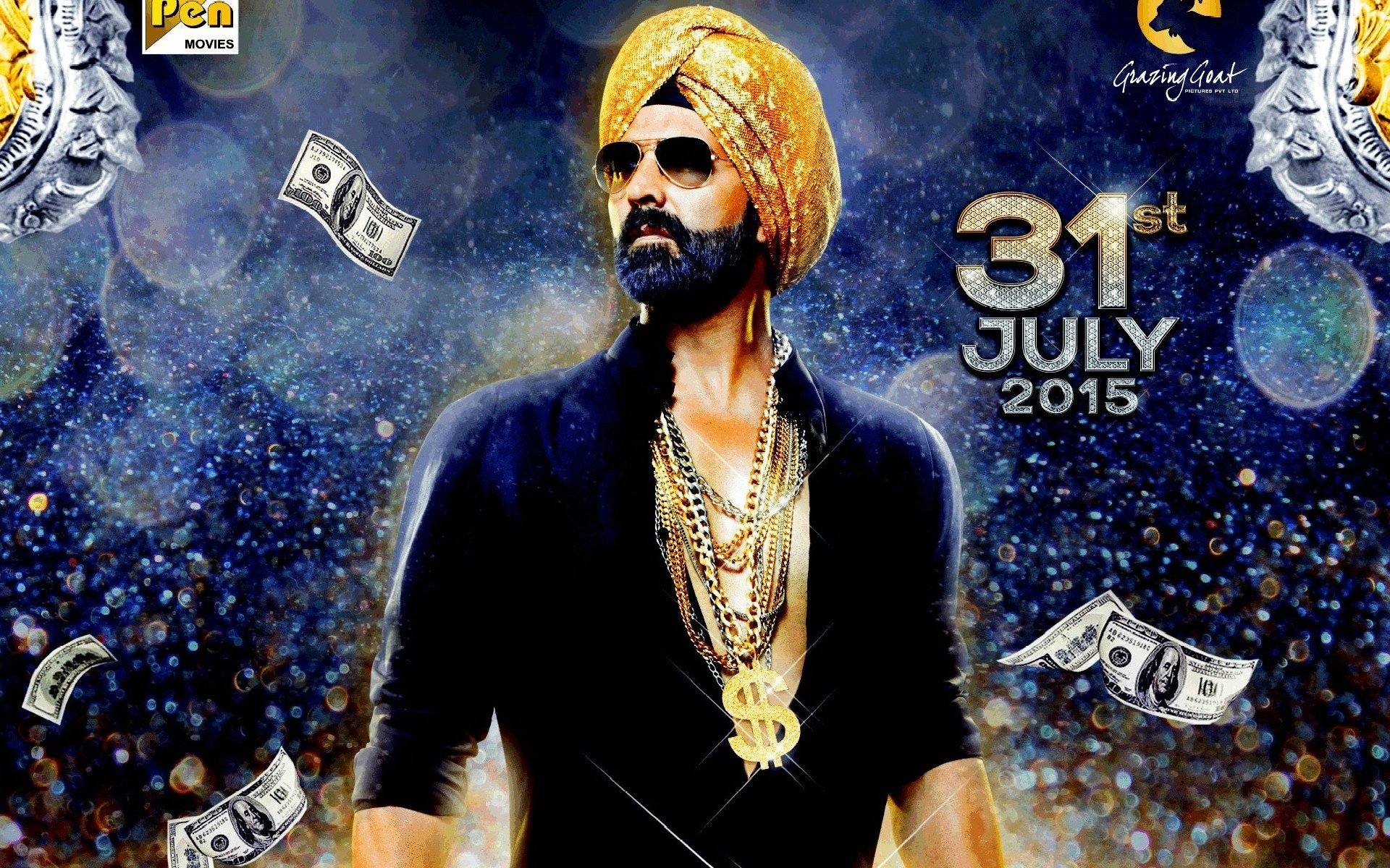 Akshay Kumar Singh Is Bling Movie First Look Poster