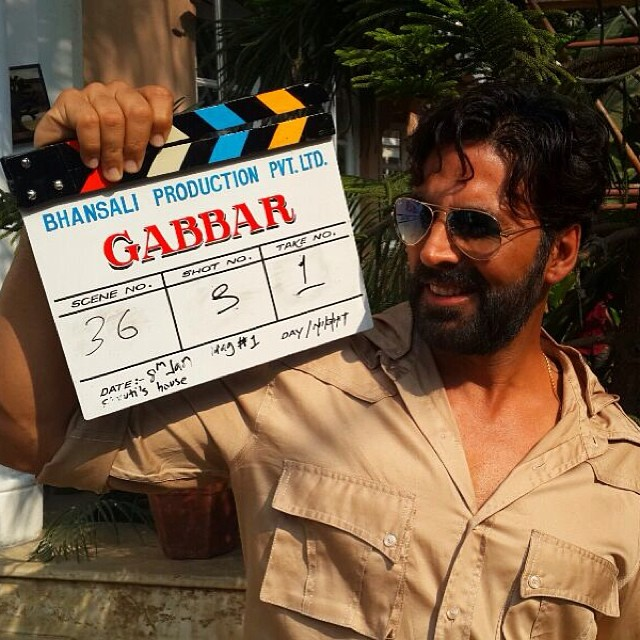 Akshay Kumar Upcoming Movies Gabbar Poster