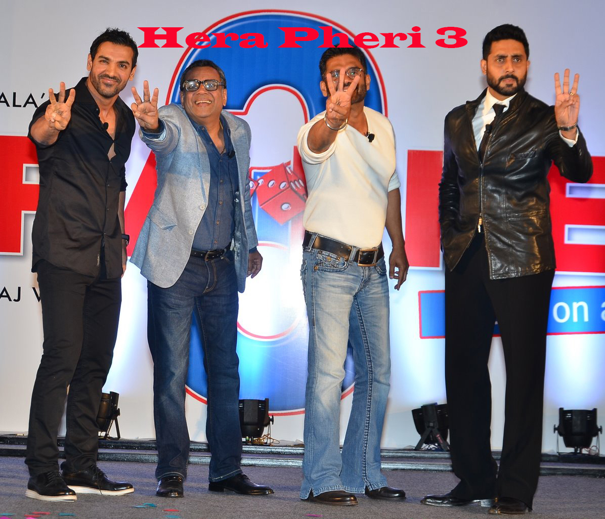 Hera Pheri 3 First Look Poster