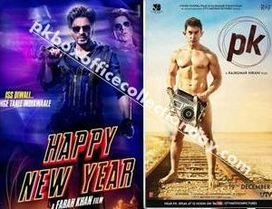 PK vs Happy New Year Box Office Collection Reports