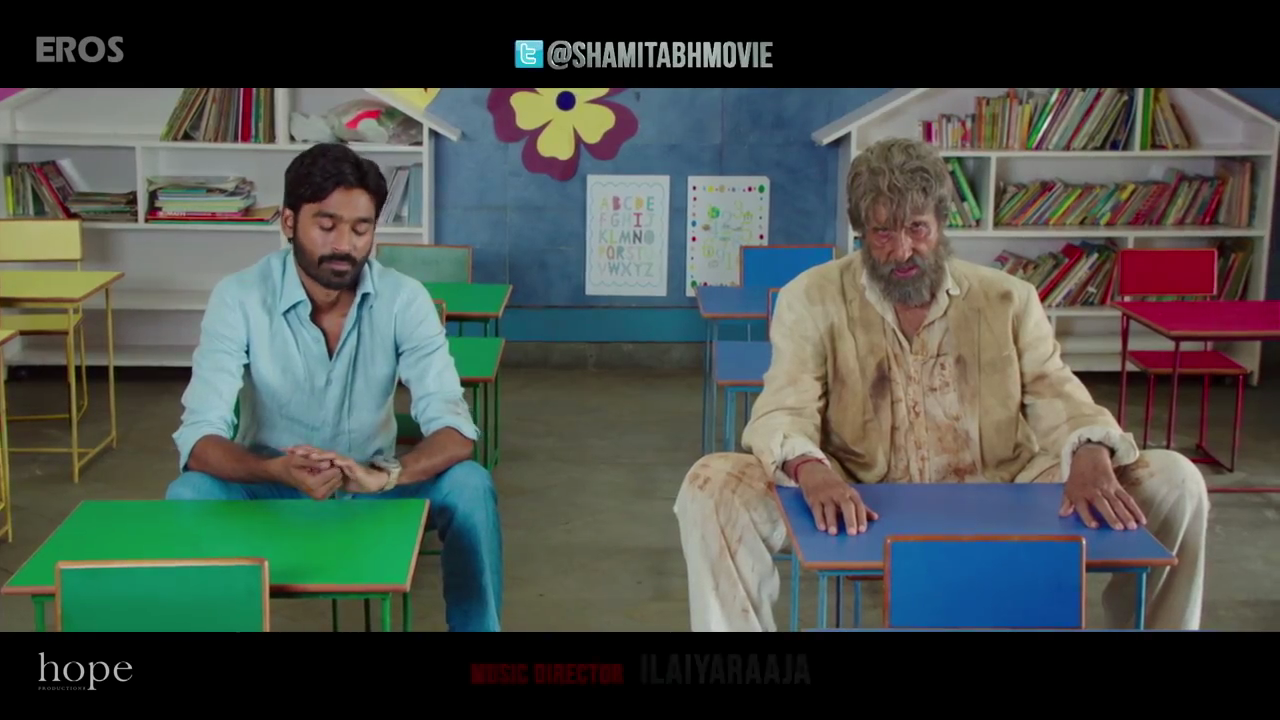 Shamitabh Sceond Dialogue Photo