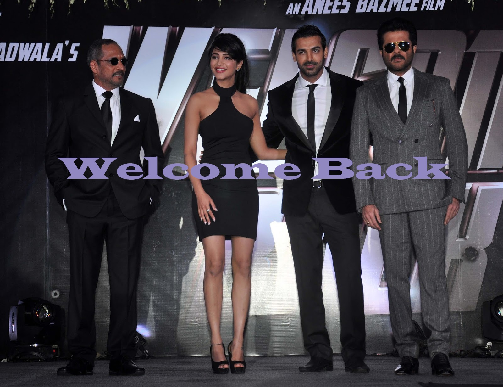 Welcome Back First Look Poster