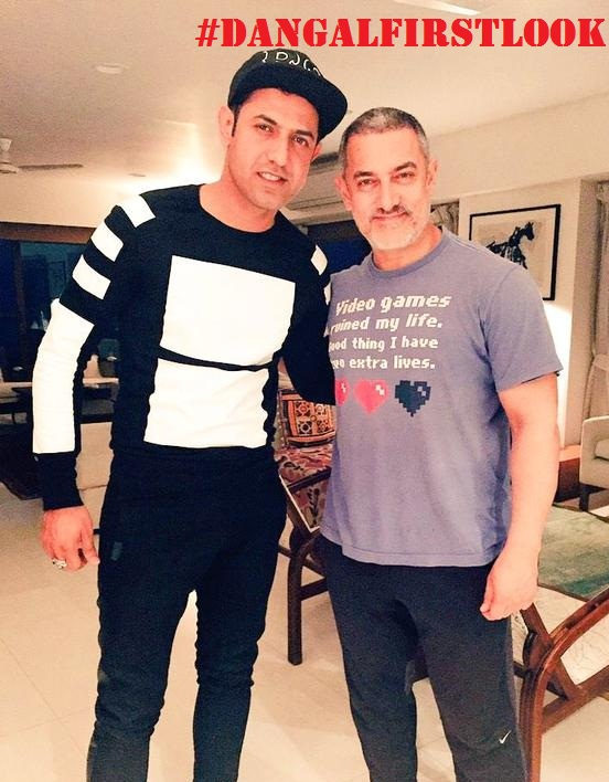Aamir Khans New Look Dangal Movie
