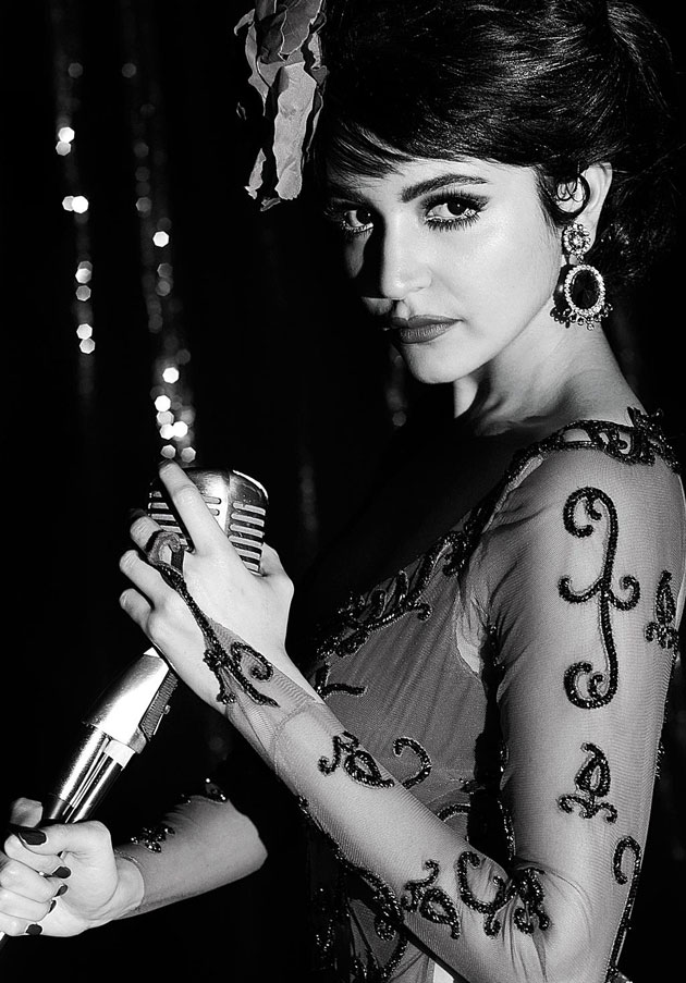 Anushka Sharma New Look In Bombay Velvet Movie