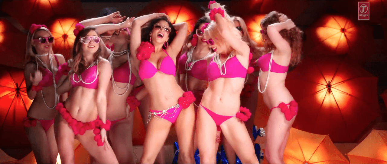 Ek Paheli Leela: Sunny Leone and Girls Hot Bikini Dance in Desi Look HD Video Song