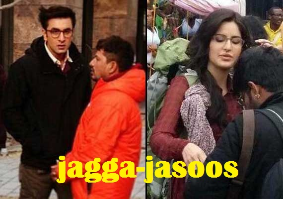 Ranbir Kapoor and Katrina Kaif Upcoming Movie Jagga Jasoos Photos