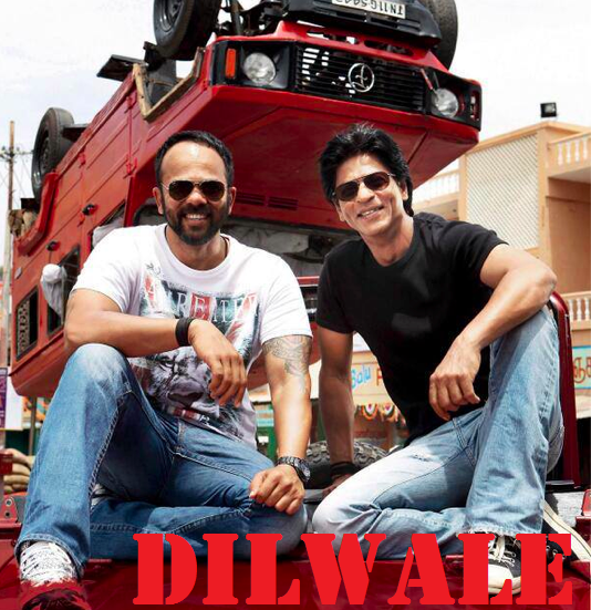 Shahrukh Khan and Rohit Shetty Next Movie Dilwale