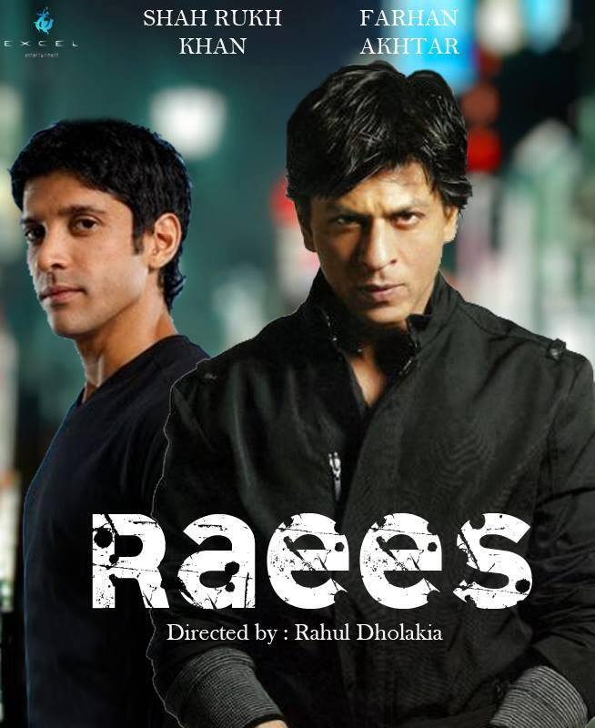 Shahrukh's Raees First Look Poster