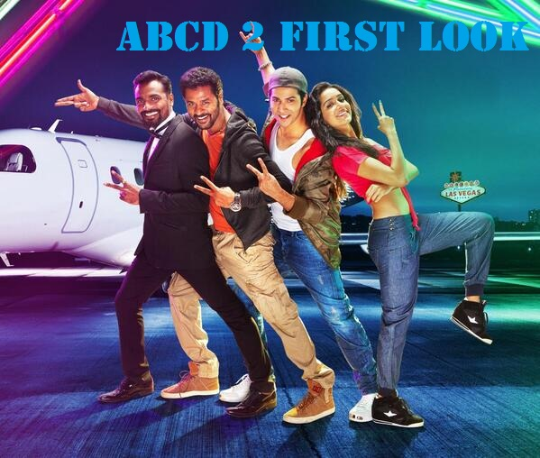Varun And Shraddha ABCS 2 First Look Poster