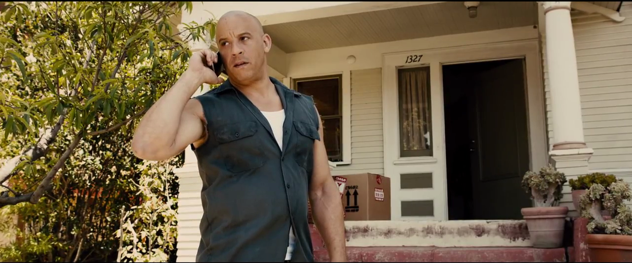 Vin Diesel in Upcoming Hollywood Fast and Furious 7