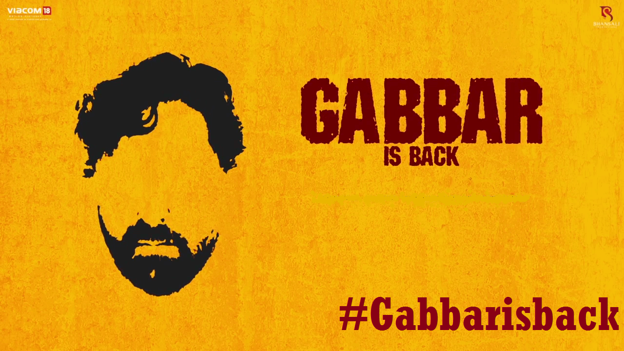 Akshay Kumar's Gabbar Is Back Teaser Video Watch
