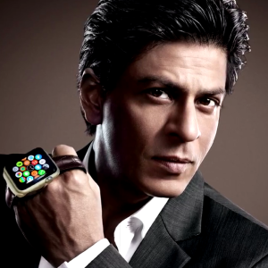 Shahrukh Khan First Indian Actor To Used Apple Watch