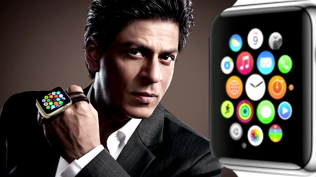 Shahrukh Khan First Indian To Used Apple Watch
